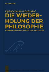 Die Wiederholung der Philosophie