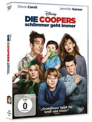 Die Coopers - Schlimmer geht immer, 1 DVD