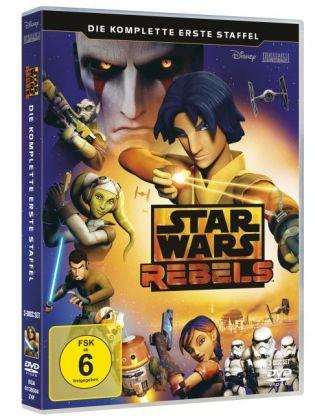 Star Wars Rebels - Die komplette erste Staffel, 3 DVDs