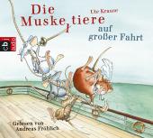Die Muskeltiere auf großer Fahrt, 3 Audio-CDs