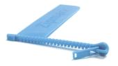 Lesezeichen Zipmark blue Cover