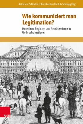 Wie kommuniziert man Legitimation?