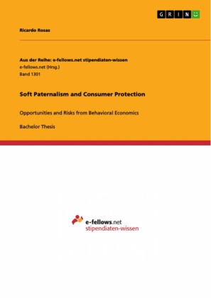 Soft Paternalism and Consumer Protection