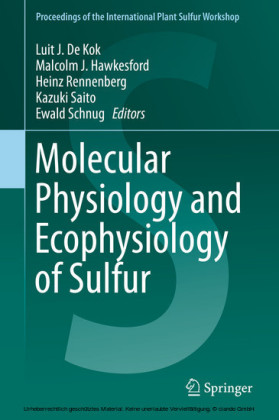 Molecular Physiology and Ecophysiology of Sulfur