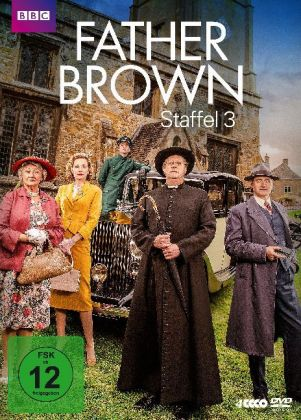 Father Brown, 4 DVDs