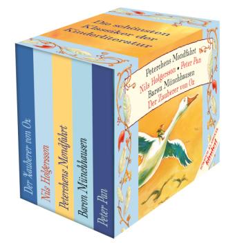 Die schönsten Klassiker der Kinderliteratur, 5 Audio-CDs