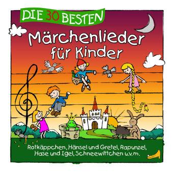 Die 30 besten Märchenlieder für Kinder, 1 Audio-CD