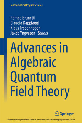 Advances in Algebraic Quantum Field Theory
