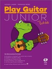 Play Guitar Junior, mit Schildi, m. Audio-CD Cover