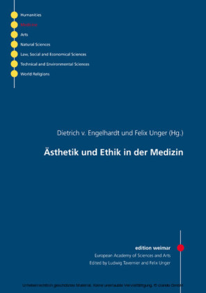 Ästhetik und Ethik in der Medizin