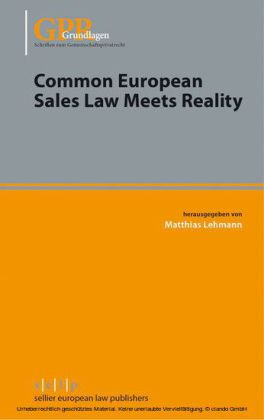Common European Sales Law Meets Reality