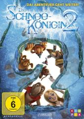 Die Schneekönigin 2 - Eiskalt entführt, 1 DVD Cover