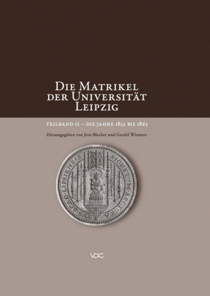 Die Matrikel der Universität Leipzig