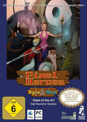 Pixel Heroes, Byte & Magic, CD-ROM