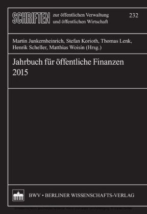Jahrbuch für öffentliche Finanzen 2015
