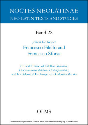 Francesco Filelfo and Francesco Sforza