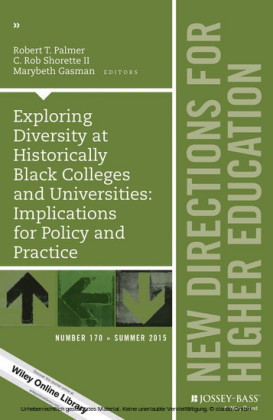 Exploring Diversity at Historically Black Colleges and Universities: Implications for Policy and Practice