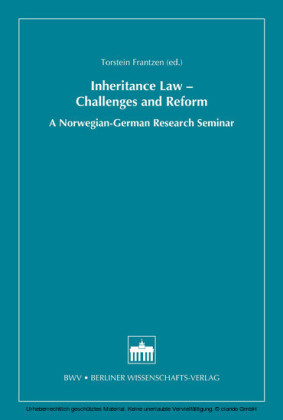 Inheritance Law - Challenges and Reform