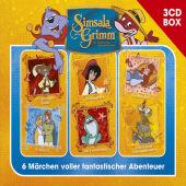 SimsalaGrimm 3-CD Hörspielbox, 3 Audio-CD Cover