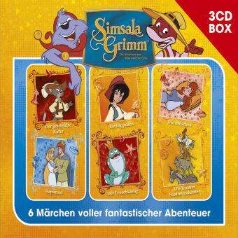 SimsalaGrimm 3-CD Hörspielbox, 3 Audio-CD