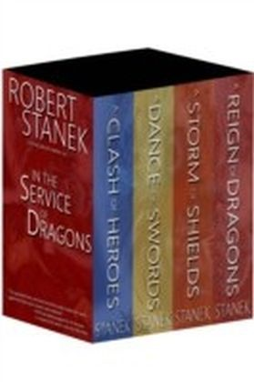 Boxed Set 10th Anniversary Edition In the Service of Dragons: A Clash of Heroes, A Dance of Swords, A Storm of Shields, A Reign of Dragons