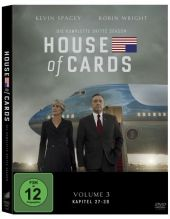 House of Cards, 4 DVDs + Digital UV Cover