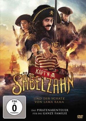 Käpt'n Säbelzahn und der Schatz von Lama Rama, 1 DVD