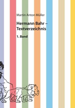 Hermann Bahr - Textverzeichnis