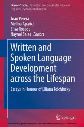 Written and Spoken Language Development across the Lifespan