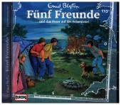 Fünf Freunde - und das Feuer auf der Felseninsel, 1 Audio-CD