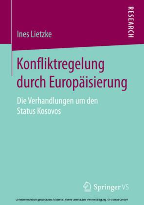 Konfliktregelung durch Europäisierung