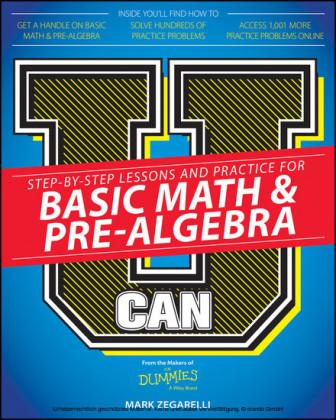U Can: Basic Math and Pre-Algebra For Dummies