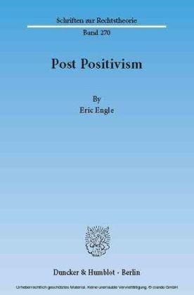 Post Positivism.