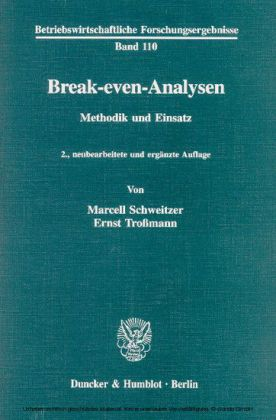 Break-even-Analysen.