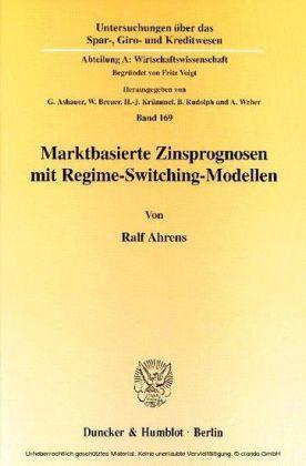 Marktbasierte Zinsprognosen mit Regime-Switching-Modellen.