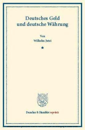 Deutsches Geld und deutsche Währung.