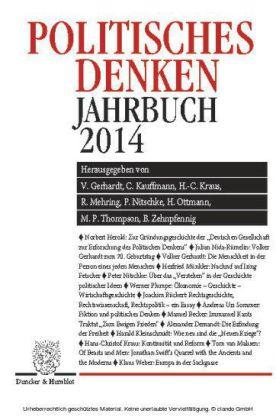 Politisches Denken. Jahrbuch 2014.