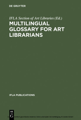 Multilingual Glossary for Art Librarians