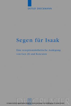 Segen für Isaak