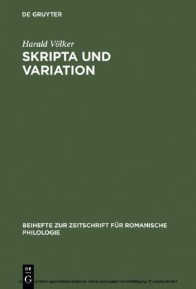 Skripta und Variation
