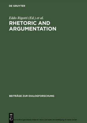Rhetoric and Argumentation