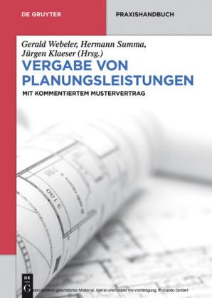 Vergabe von Planungsleistungen