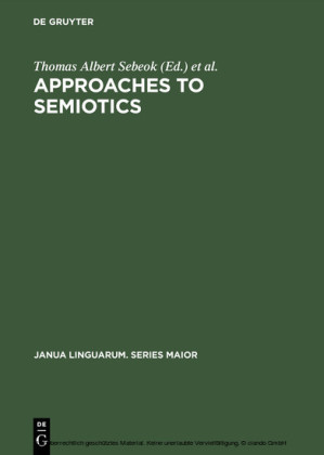 Approaches to semiotics