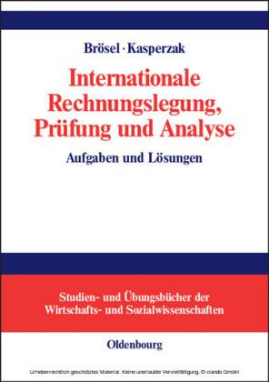 Internationale Rechnungslegung, Prüfung und Analyse