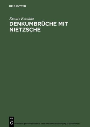 Denkumbrüche mit Nietzsche