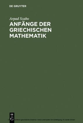 Anfänge der griechischen Mathematik