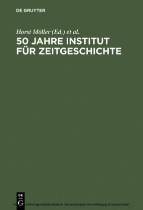 50 Jahre Institut für Zeitgeschichte