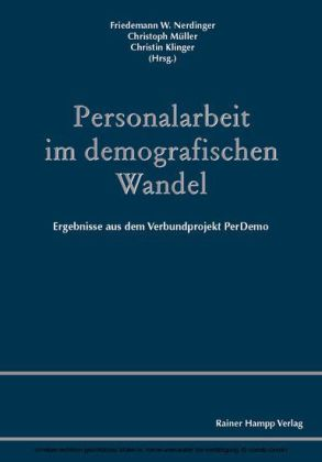 Personalarbeit im demografischen Wandel