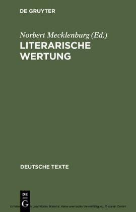 Literarische Wertung
