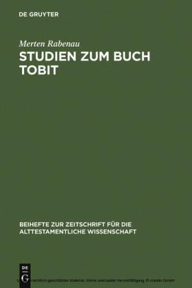 Studien zum Buch Tobit